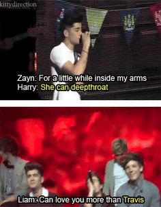 One Direction Lyric Changes (gif) I'm literally dying at some of these