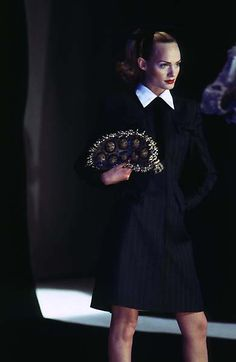 1996-97 - Galliano 4 Givenchy - Amber Valetta