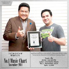 อันดับ 1 !!! ยื้อ - เบน ชลาทิศ กับรางวัล IW Music Award เพลงไทยสากลที่ได้รับความนิยมอันดับที่ 1 ประจำเดือนพฤศจิกายน 2557 ยินดีด้วยครับ (ผลวิจัยโดย IW จากสถานีวิทยุ 40 FM radio station ในกรุงเทพและปริมณฑล) #intensivewatch #iw #chart #update #music #bangkok #thailand