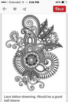 Paisley tattoo!:)