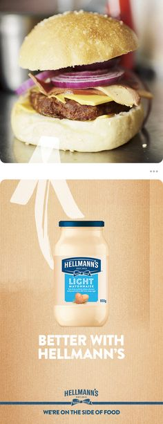 Burgers and Hellmann's mayonnaise – the perfect combination. The next time you're having a BBQ or party, and want to make your burgers from scratch, follow this classic recipe to create sensational, succulent burgers. BBQs taste better with Hellmann's.