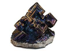 Bismuth Crystal  - Healing Energy Metaphysical Metal Unique gift Rainbow Meditation Mineral Gemstone Chakra Reiki