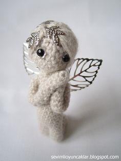 Crocheted 27 inc Miniature Angel by Denizmum on Etsy, $91.00