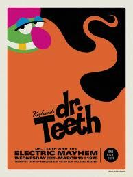 dr teeth and the electric mayhem poster