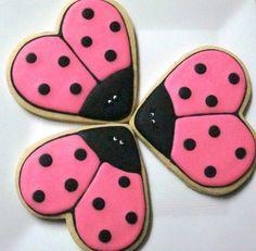 Cute lady bug cookies