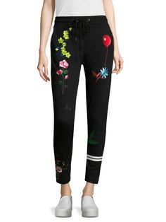 Printed Balloon Pants from Cynthia Rowley Sport on Gilt