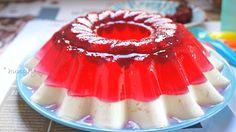 Πανακότα Γιαουρτιού & Ζελέ Κερασιών Greek Sweets, Kitchen Stories, My Dessert, Summer Desserts, Light Recipes, Mousse, Cravings, Panna Cotta, Deserts