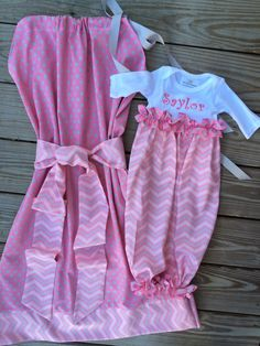 Matching Maternity hospital gowns for sale by Mimimadeitboutique on Etsy https://www.etsy.com/listing/189743213/matching-maternity-hospital-gowns-for
