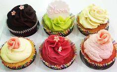 Emporta't a casa una caixa de 6 dolços cupcakes variats. Mmmmmmmmm per 10€