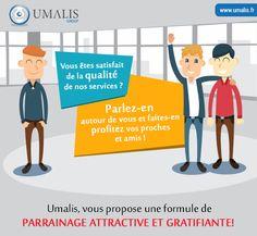 Parrainez un nouveau consultant et recevez 20% des frais pendant 12mois #PortageSalarial #Umalis #Consultant
