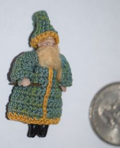 Antique Doll Miniature Bisque Dollhouse Lilliputian Fancy Dressed