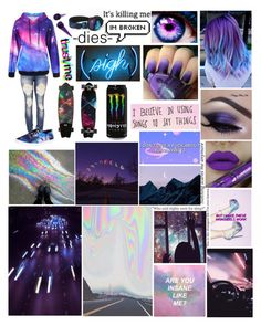 """I guess you could say I like purple 🤷🏼‍♀️"" by bringpanicinreverse ❤ liked on Polyvore featuring art"