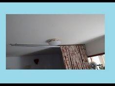 Varão para cortina com cano pvc