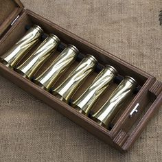 This is a set of 35 gram glasses forged from shells of 14.5x114 mm caliber cartridges used in KPV-14.5 heavy machine guns and anti-tank guns.   #ww2 #1942 #ammunition #handcrafted #shellcasing #crafting #repoussage #weaponsfanatics #headshot #vintage #trenchart #drinkingset #shotglass #brassart #weapons #kalashnikov #history #custommade #gun #metalwork #handmade #military #souvenir #bullet #forvictory #hunting