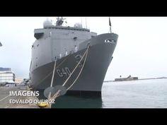 """Novo navio da frota da Marinha é batizado de """"Bahia"""""""