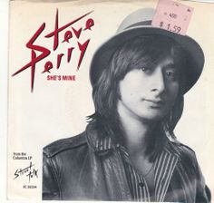 "Steve Perry She's Mine / You Should Be Happy 7"" Vinyl 45 RPM Jukebox Record & Picture Sleeve #Journey #Pop #Music"