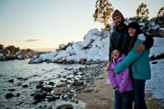 Winter Lake Tahoe | Family Photo Session