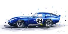 Daytona cobra by klem on DeviantArt