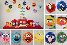 Sesame Street Pom Poms!