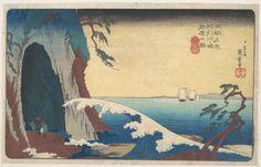 |Sōshū, Enoshima Iwaya no Zu by Utagawa Hiroshige, Asian Art