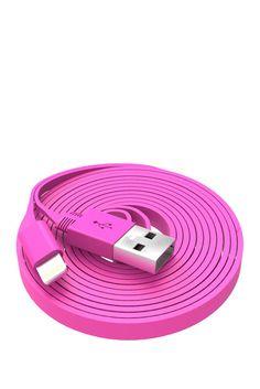Pink Lightning Cable  $14.97 Sponsored by Nordstrom Rack.