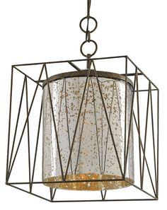 Marmande Square Lantern design by Currey & Company