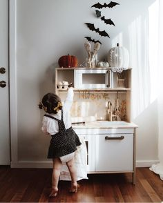 Kids play kitchen ikea hack ikea play kitchen fall aesthetic