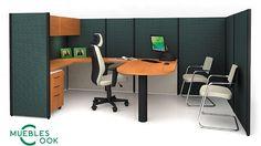 MC ofrece una cantidad ilimitada de soluciones al permitir armar diferentes configuraciones de muebles. Crea áreas de trabajo con un diseño moderno que estimula la creatividad al tiempo que mantiene un ambiente organizado.