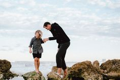 Father & Son // Family Portraits // Naples Florida Beach