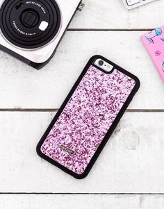 funda-glitter-rosa Glitter Rosa, Samsung, Iphone, Bling Bling, Pretty In Pink, Phone Cases, Mobile Cases, Phone Case