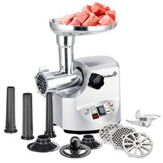 Meat Grinder Parts 2019 New Style Mexi High Quality 1pc Meat Grinder Screw Mincer Meat Grinder Parts Meat Grinder Bades Home Kitchen Accessories Replacement Rapid Heat Dissipation