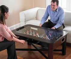 Umm... BEST // Foosball coffee table