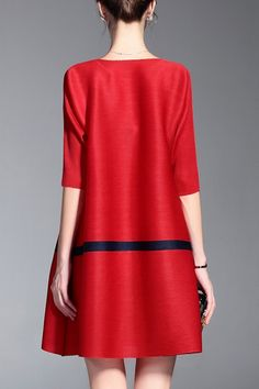 High Stretchy Mini Dress - RED ONE SIZE(FIT SIZE XS TO M)
