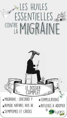 Halte à la Migraine grâce aux huiles essentielles. La synergie d'Olyaris inclut les composés aromatiques les plus efficaces pour en venir à bout. #Huile #Essentielle #Olyaris #Aromatherapie #HuilesEssentielles #Remede #Astuce #GrandMere #Naturel #Soin #DIY #Beauté #Santé #Remededegrandmere #Utilisation #Bienfaits #Propriétés #Migraine #Chronique #Mal #Tete #Maldetete