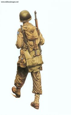 camisas infanteria usa wwii - Buscar con Google