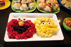 Sesame Street Fruit Platter