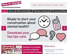 Time to Change. Mental health problems are common - but nearly nine out of ten people who experience them say they face stigma and discrimination as a result. This can be even worse than the symptoms themselves. Time to Change is England's biggest programme to challenge mental health stigma and discrimination.