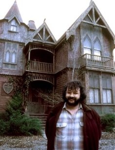 Peter Jackson on the set of The Frighteners