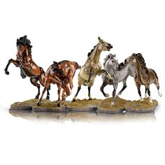 Shop The Bradford Exchange for Horses. The Good Place, Camel, Horses, Knick Knack, Amazing Places, Animals, Collection, Projects, Log Projects