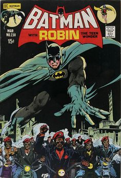 Batman #230 by Neal Adams