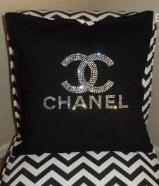 Crystal Pillow Cover by LoyalBoutiqueUnique on Etsy