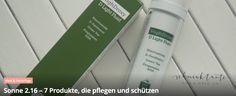 Diese Woche ist Sonnenschutz im Blog angesagt: 7 Produkte, die pflegen und schützen: http://blog.schminktante.de/2016/06/11/sonne-2-16-7-produkte-die-pflegen-und-schuetzen/