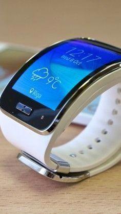 Gear Watch, Samsung Galaxy Models, smartwatches, smart w New Technology Gadgets, High Tech Gadgets, Futuristic Technology, Wearable Technology, Technology Design, Electronics Gadgets, Smartphone, Cool Watches, Watches For Men