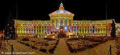 Christmas lights, Denver City and County Building
