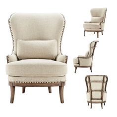 For the open floor plan...so you can admire it from every possible angle. The Portsmouth Chair. Arhaus
