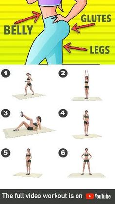 Fitness Workouts, Gym Workout Videos, Gym Workout For Beginners, Fitness Workout For Women, At Home Workouts, Fitness Tips, Body Fitness, Morning Ab Workouts, Short Workouts