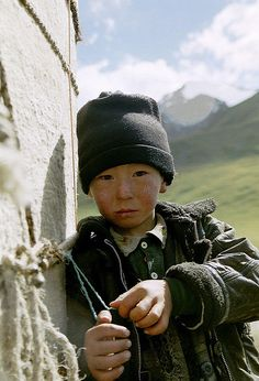 Little boy from Kyrgyzstan