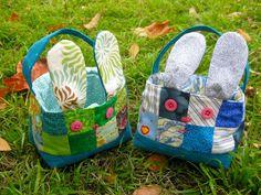 Easter bunny basket | Sewn Up by TeresaDownUnder