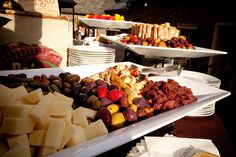 Gourmet Olive and Cheese Tray- Summer wedding at Pearl S. Buck