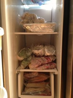 The Days in the Life of an Eccentric: Monthly Meal Planning